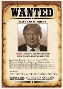 WantedStupidTrump