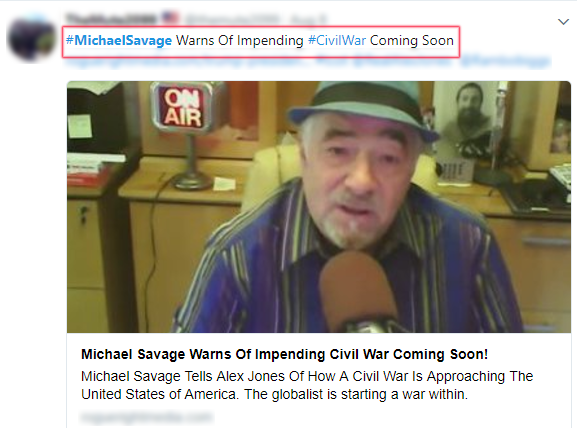 MichaelSavage Slavery CivilWar