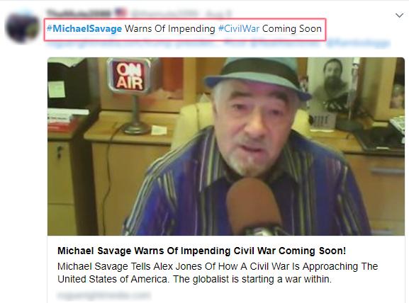 MichaelSavage Slavery CivilWar
