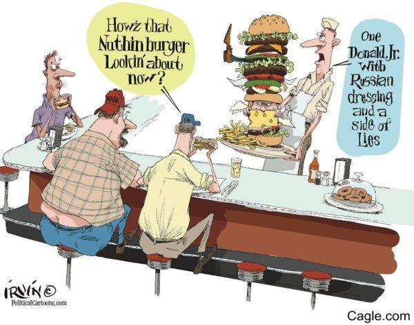 trump jr burger
