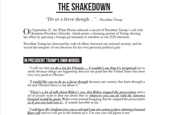 the shakedown pelosi