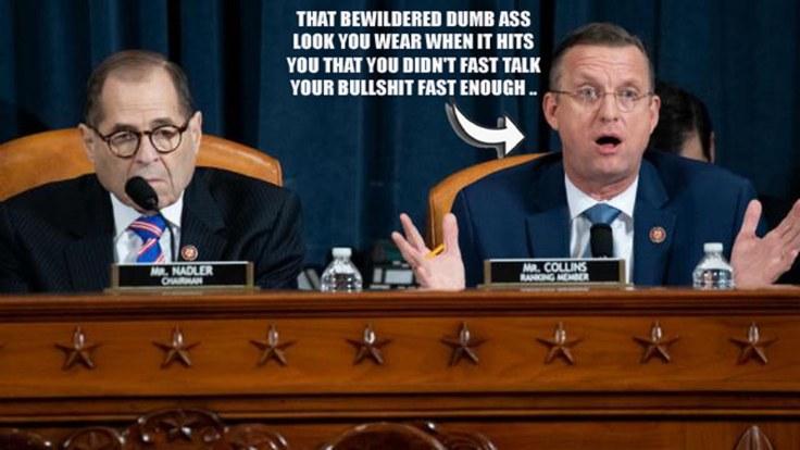 fast talking Collins dumb ass