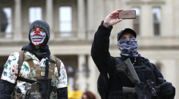 masked idiots